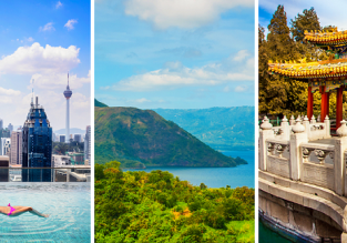 Malaysia, Philippines and China in one trip from Copenhagen for just €391!