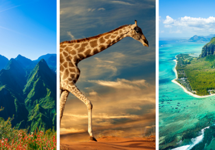 Reunion, Mauritius and South Africa in one trip from Frankfurt just €551!