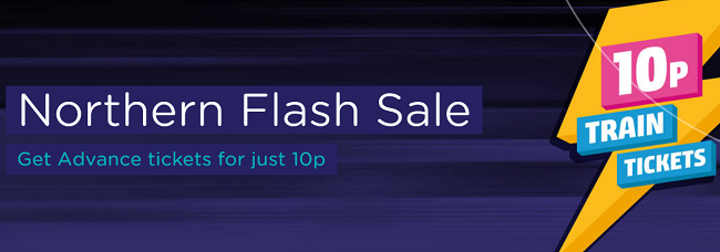 Northern Railway Flash Sale! Train tickets across UK for £0.10!