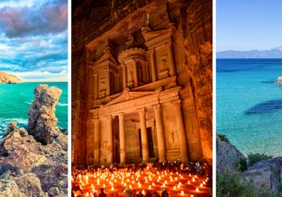 Greece, Cyprus and Jordan in one trip from Memmingen for €78!