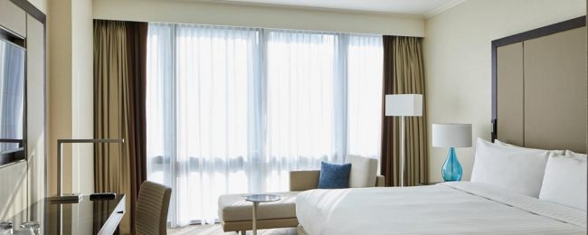 X-mas! 5* London Marriott Hotel Canary Wharf for only €127! (€63.5/ $70 pp)