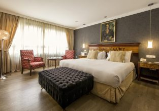 X-mas! 5* Eurostars Araguaney in Santiago de Compostela, Spain for just €58/night! (€29/$33 pp)