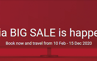 AirAsia BIG SALE! Fares from $3 one-way!