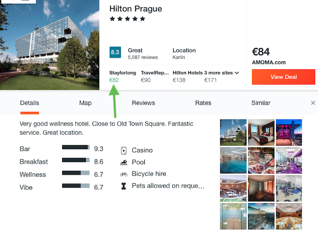 Xmas! Luxurious 5* Hilton Prague from only €41/ $45 per person!