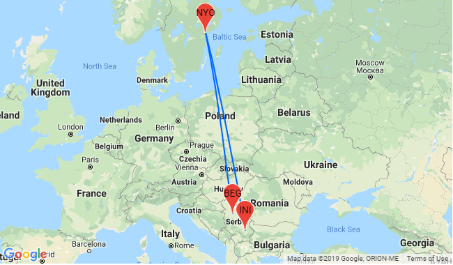 Flights From Sweden To Serbia And Viceversa For Only 19