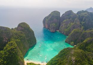 Seaview resort in Phi Phi Islands, Thailand for only €16/night! (€8/ $9 per person)