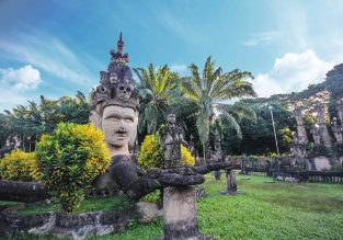 Cheap flights from London to Vientiane, Laos for only £356!