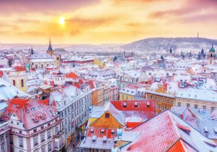 City break in Prague! 4-night stay at well-rated hotel + flights from London for £79!