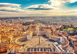 Long weekend in Rome! 4-night stay at very well-rated hotel + flights from Berlin for only €97!