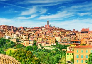 Weekend in Tuscany! 3, 4 or 5-night stay at charming 19th century hotel in lovely Siena + cheap flights from London from only £91!