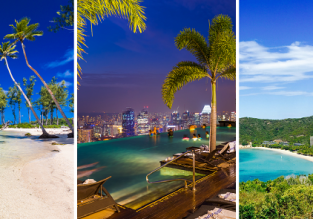 Zurich to exotic Vanuatu for only €849! 3 in 1 with Australia and Singapore for €969!