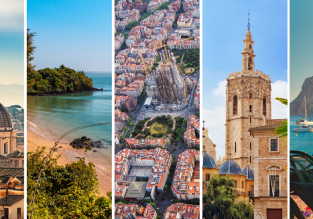 5 in 1 from Frankfurt: Gambia, Barcelona, Ibiza, Valencia and Rome for €262!