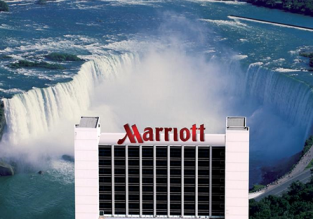 Fallsview room at 4* Niagara Falls Marriott (the closest hotel to the Falls) for only €119/night! (€60/ $66 pp)