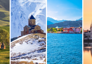 Hungary, Azerbaijan, Georgia and Italy in one autumn trip from London just £86!