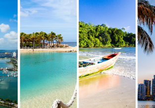 Florida, Panama, Trinidad and Tobago and Curacao in one trip from London just £446!