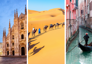 Visit Fez, Milan and Venice in one trip from Prague for just €54!