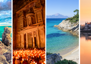 Cyprus, Jordan, Greece and Hungary in one autumn trip from Berlin just €58!