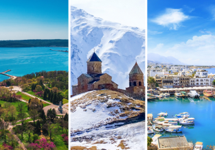 3 in 1 from Copenhagen! Black Sea (Varna), Cyprus and Georgia for just €69!