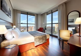 X-mas! 4* Hotel Vía Castellana in Madrid, Spain for only €48/night! (€24/ $26 per person)