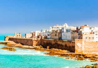 Cheap break in Morocco! 4-night B&B stay at well-rated hotel in Essaouira + flights from Brussels for €42!