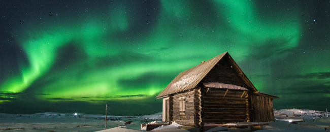 Aurora hunting in Northern Russia! Moscow and Murmansk from London for just £98!
