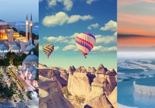 Discover Turkey! Istanbul, Pamukkale, Cappadocia and Turkish Riviera in one trip from many European cities from €113!
