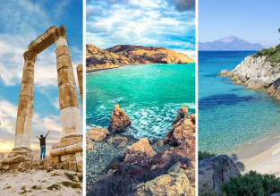 3 in 1 from London: Cyprus, Jordan and Greece for £52