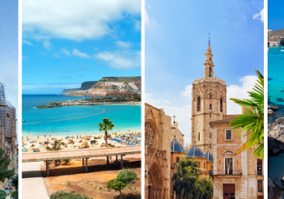 4 in 1 from Manchester: Gran Canaria, Malta, Valencia and Barcelona for £67