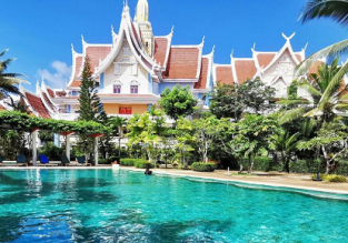 X-mas and New Year! 5* Aonang Ayodhaya Beach Resort in Krabi for only €48/night! (€24/ $27 per person)