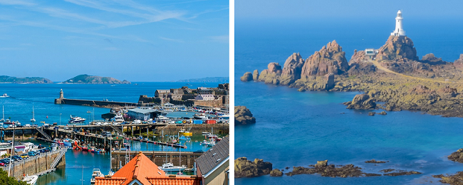 Autumn 2 in 1 from London: Guernsey and Jersey for just £76!