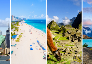 Across North and South America from London for just £495!