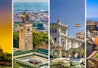 4 in 1 from Stockholm: Paris, Fez, Madrid and Milan for just €54!