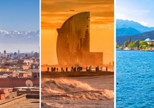 Italy, Spain and Morocco in one trip from Gothenburg just €51