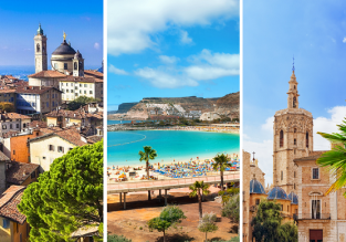 3 in 1 from Oslo: Gran Canaria, Valencia and Milan (Bergamo) just €62