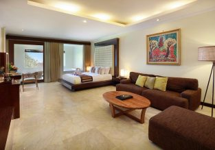 90 m² suite at 5* Kamuela Villas & Suites Sanur in Bali for only €67/night! (€33.5/ $37 pp)