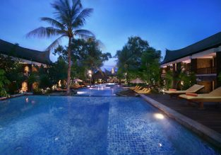4* Aston Sunset Beach Resort in Gili Islands for just €42/night! (€21/ $23 per person)
