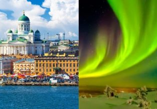 Finland over the Northern Lights Season! Lappeenranta, Helsinki and Lapland in one trip from Berlin for €95!