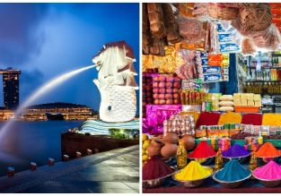 WOW! Singapore and India in one trip from New York from only $383 with 5* ANA and 5* Singapore Airlines!