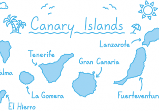 5 in 1 from London! Gibraltar, Malaga and three Canary Islands for £93!