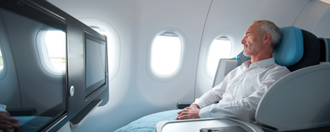 Peak Summer! Non-stop Business Class flights from Paris to New York for €947!