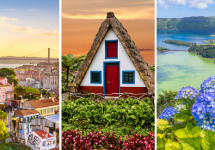 Explore Portugal! Madeira, Azores and Lisbon in one spring trip from London for £102