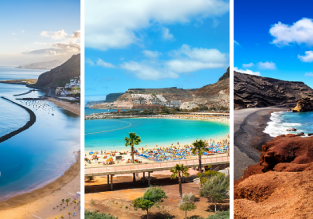3 in 1 from Frankfurt: Tenerife, Gran Canaria and Lanzarote for €100