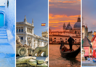 4 in 1 from Prague: Spain, Morocco, France and Italy in one trip for €54