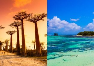 MEGA EXOTIC! Several cities in Madagascar and Reunion in one trip from Paris from €673!