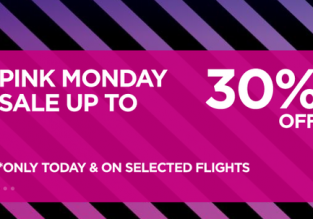 Wizz Air Cyber Monday 2019! 30% off on selected flights!