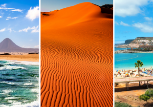 3 in 1 from Basel: Gran Canaria, Fuerteventura and Western Sahara for €122