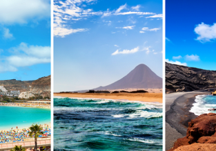 3 in 1 from Basel: Lanzarote, Gran Canaria and Fuerteventura for €76