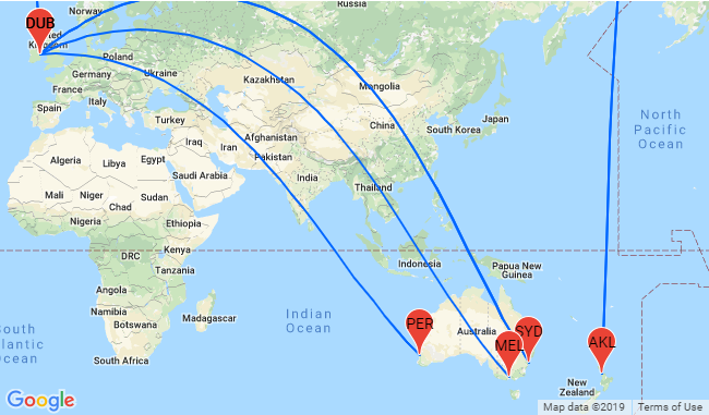 5* Singapore Airlines: Cheap flights from Ireland to Australia and New  Zealand from €724!