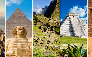 The ultimate Around The World trip visiting Seven Wonders of the World for €1369!