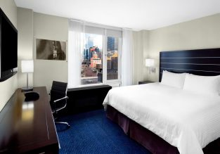 4* Hilton New York Fashion District in Midtown Manhattan for €85/$94 per night!